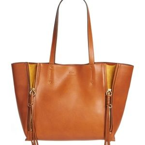 NWT Chloe Milo Bag in Caramel